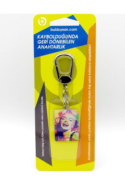 Bulduysan Anahtarlık - Künye ( Marilyn Monroe)