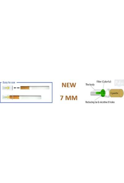 Pufai Pufal Slender Sigara Filtresi Tar Katran Süzen 7Mm Uyumlu Ağızlık 125 Adet 1 Paket