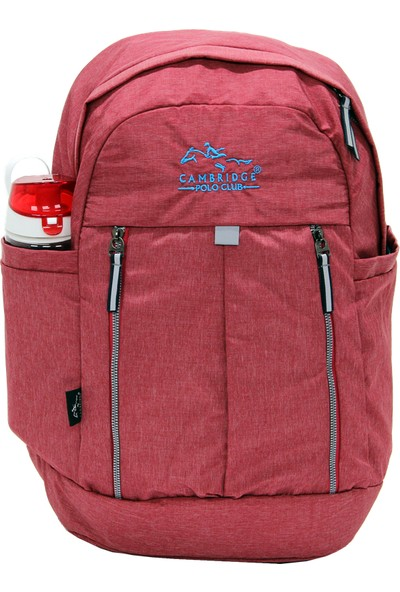 Cambridge Polo Club Plcan1669 Soft Sırt Çanta Kırmızı