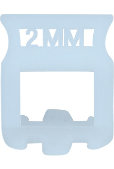 Tuğ Seviye Derz Artısı 2 mm 200'lü Paket