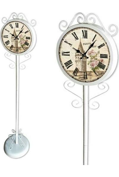 Favori Avize Ayaklı Metal Saat