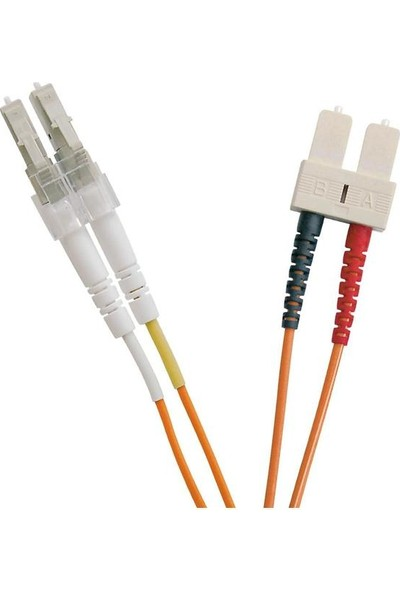 Excel 202-178 Enbeam Om2 Fibre Optic Patch Lead Lc-Sc Multimode 50/125 Duplex Ls0H Orange 0.5 m