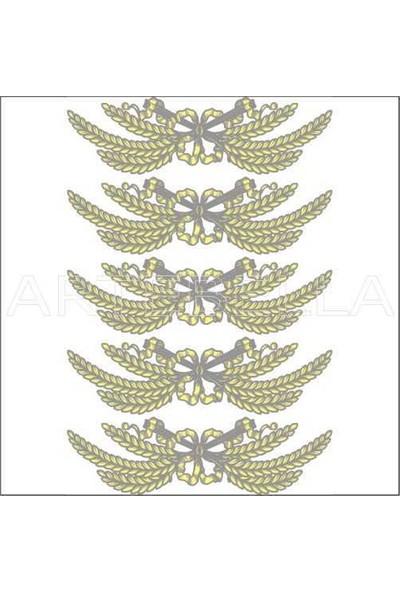 Artebella Artebella 1771 K Büyük Dantel Transfer (Koyu Zeminde Uygulanır,23x34cm)