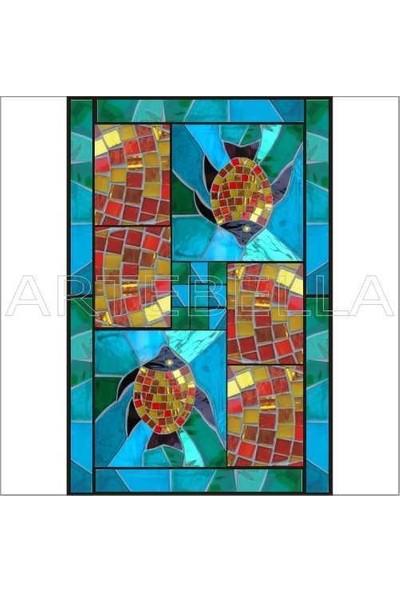 Artebella Artebella 1568V Mozaik Transfer(Açık Zeminde Uygulanır,23x34cm)