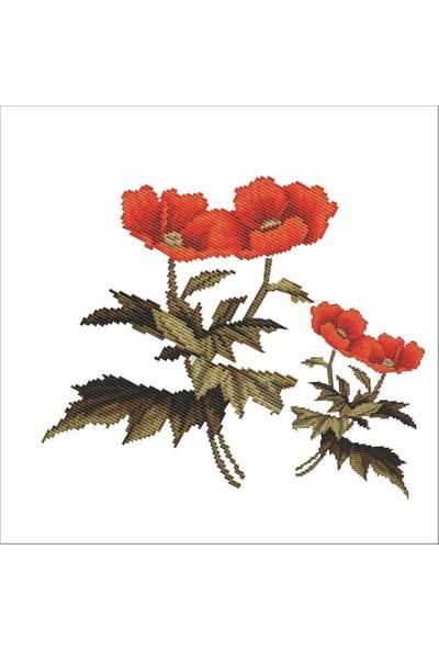 Artebella Artebella 1821v Kolay Kumaş Transfer Açık Zeminde Uygulanır 16,5 x 17,5 cm