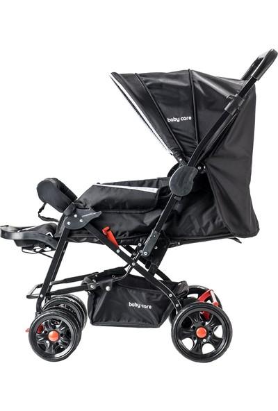 Baby Care Practico Çift Yönlü Bebek Arabası Siyah