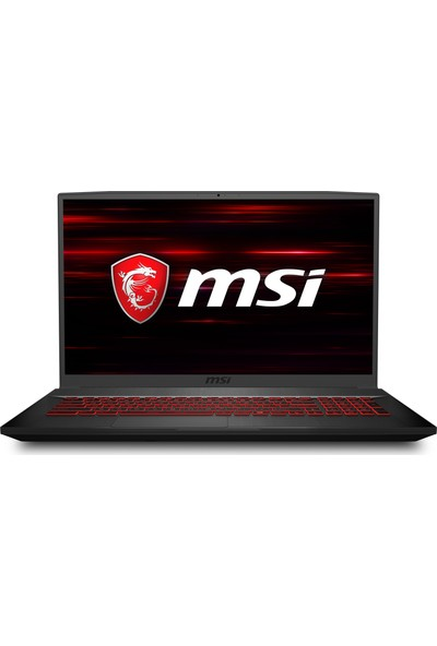 "MSI GF75 Thin 8RD-203TR Intel Core i7 8750H 16GB 512GB SSD GTX1050Ti Windows 10 Home 17.3"" FHD Taşınabilir Bilgisayar"