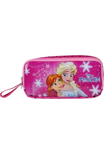 Frozen Elsa Iki Bölmeli Kalem Çantası Lisanslı