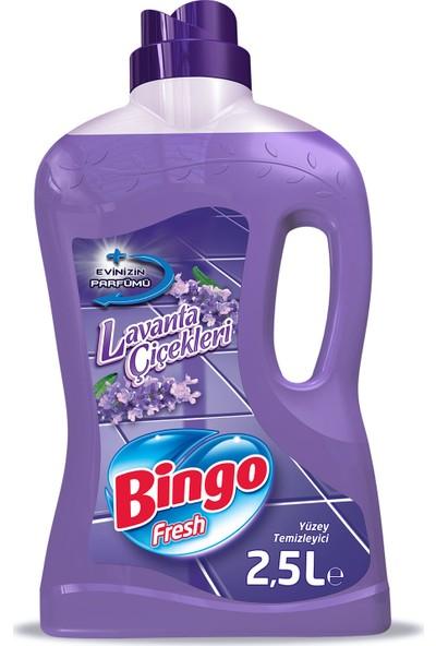 Bingo Fresh Yüzey Temizleyici Lavanta Çiçekleri 2,5 L