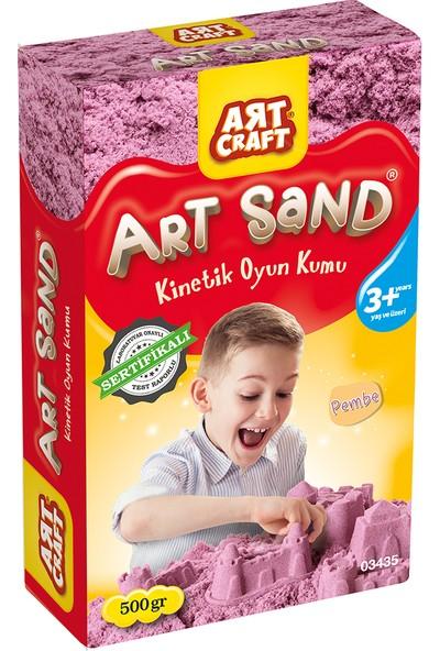 Artcraft Pembe Kinetik Oyun Kumu 500 gr