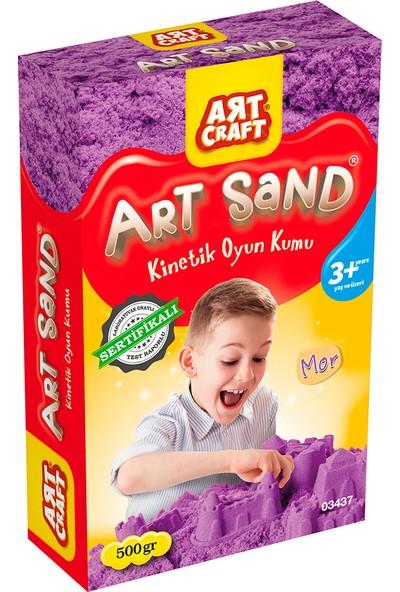 Artcraft Mor Kinetik Oyun Kumu 500 gr