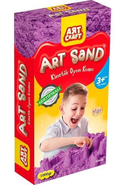 Artcraft Mor Kinetik Oyun Kumu 1000 gr