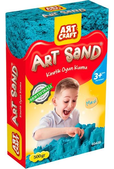 Artcraft Mavi Kinetik Oyun Kumu 500 gr