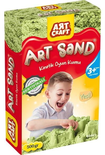 Artcraft Yeşil Kinetik Oyun Kumu 500 gr