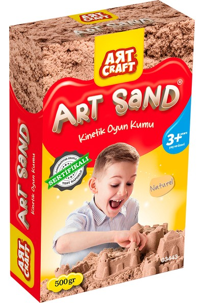 Artcraft Naturel Kinetik Oyun Kumu 500 gr