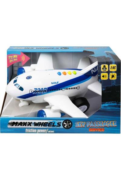 Maxx Wheels 1 16 Uçak 720A 720B Sesli Işıklı S00001998