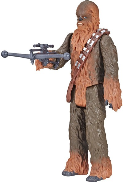 Star Wars Galaxy Of Adventures Figür Chewbacca E5648-E5651