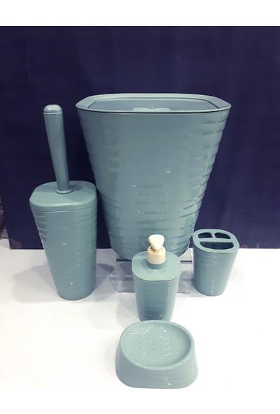 Welle Banyo Seti Çöp Kovası 5 Parça