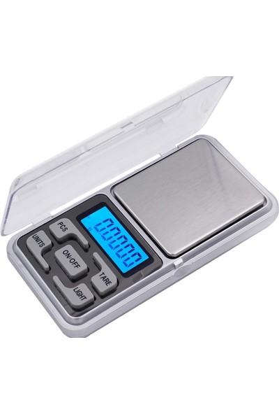 Hodbehod Dijital Hassas Elektronik Cep Terazi Tartı 500 Gr 0.01 Gr