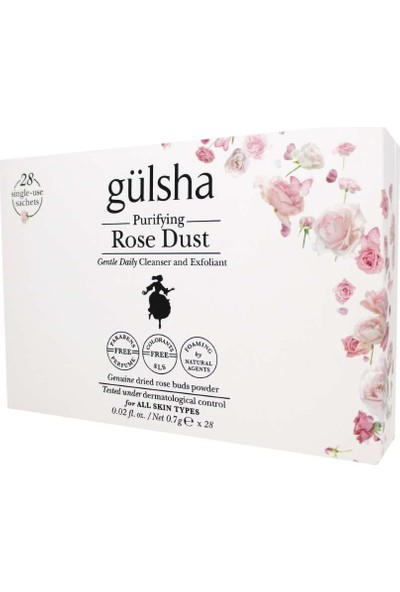 Gülsha Purifying Rose Dust 28x0.7g Saşe