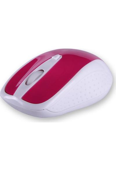 Flaxes FLX-909WP Kablosuz Mouse - Pembe