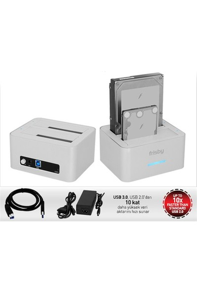 "Frisby FHD-U352S 2,5""/3,5"" SATA USB3.0 Docking Station"