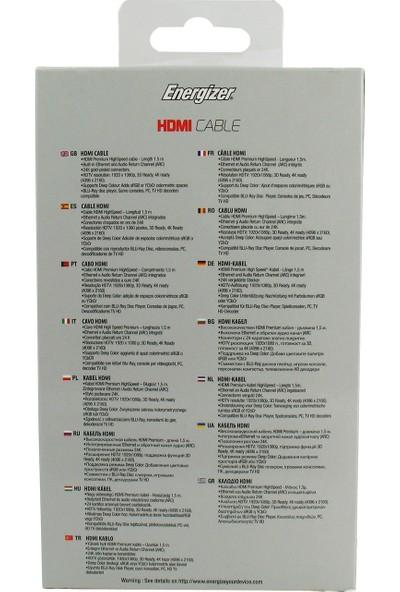 Energizer LCAEHHAA15 Hightech 1.5m HDMI to HDMI Kablo