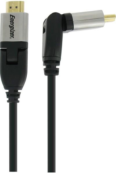 Energizer LCAEHRHAA30 Hightech 3m HDMI to HDMI Döner Başlıklı Kablo