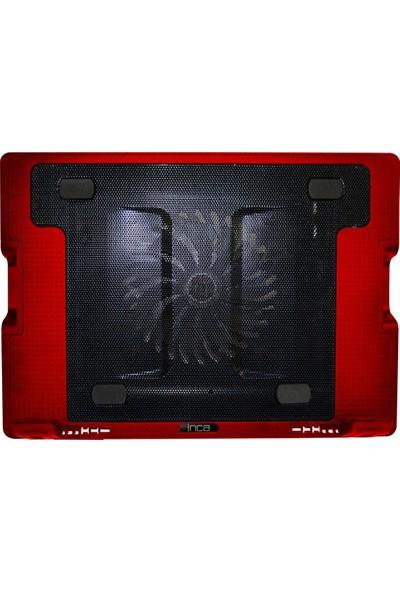 Inca INC-341FXK Ergonomik 14cm Sessiz Led Fanlı Notebook Soğutucu