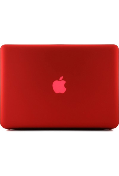 "Codegen Apple 13"" 13 inc Macbook Air A1466 A1369 Kırmızı Kılıf Kapak CMA-133R"