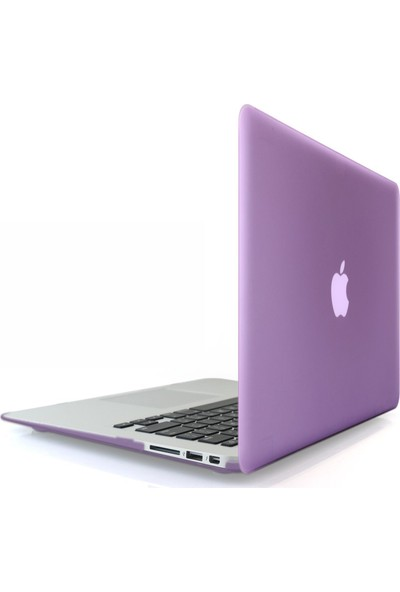 "Codegen Apple 13"" 13 inc Macbook Air A1466 A1369 Mor Kılıf Kapak CMA-133PU"