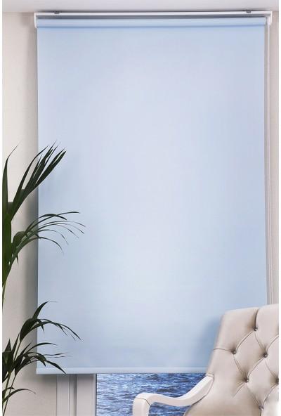Comforsun Mat Stor Perde Açık Mavi 110x200