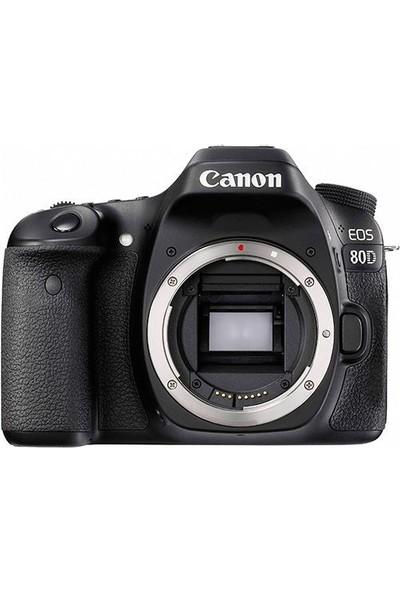 Canon EOS 80D Body Dslr Fotoğraf Makinesi İthalatçı Garantili