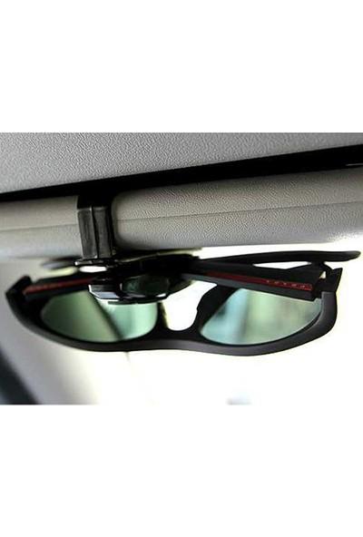 Araç Gözlük Tutucu Klips (Renk Asorti)