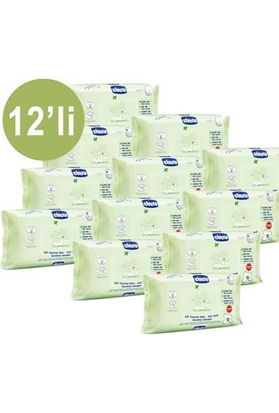 Chicco Baby Moments 72'li Islak Mendil 12'li Paket (864 Yaprak)