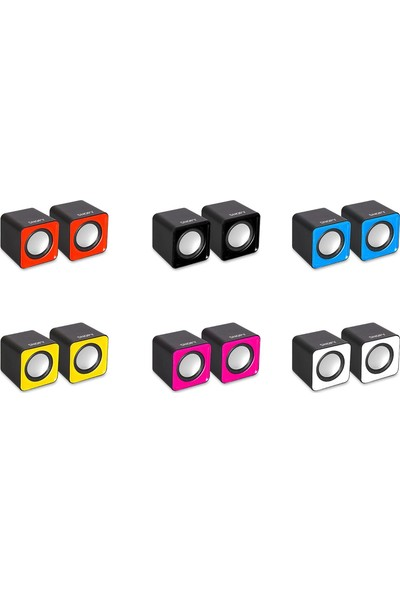 Snopy Sn-66 2.0 Siyah Usb Speaker Sn-66-Sıyah