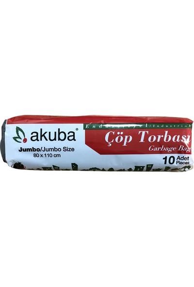 Akuba Çöp Torbası Jumbo Boy - Siyah 80*110 cm