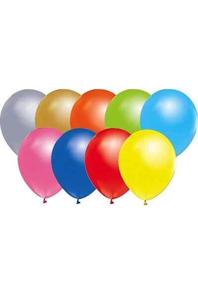Party Marty Karışık Metalik Balon 20' li