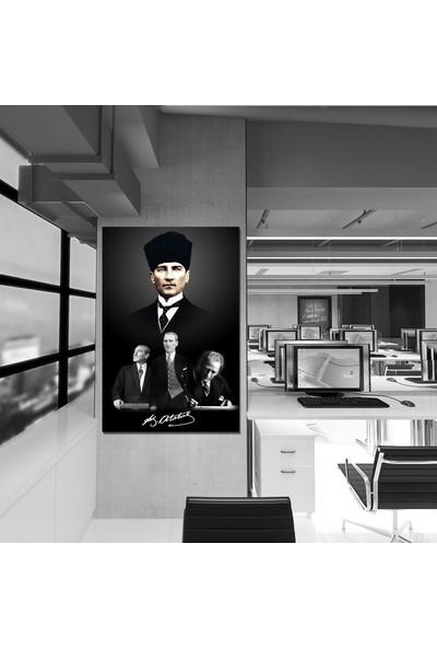 Meteor Galeri Atatürk Resimlerinden Kanvas Tablo
