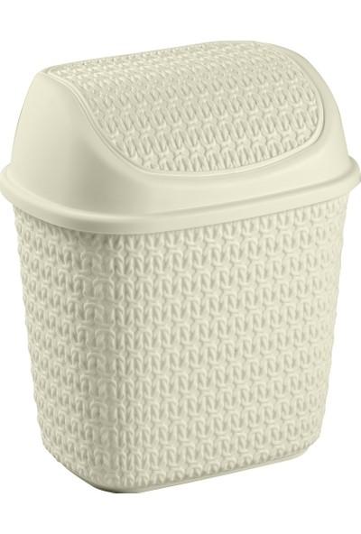 Tuffex Örme Klik Çöp Kovası 7,5 lt
