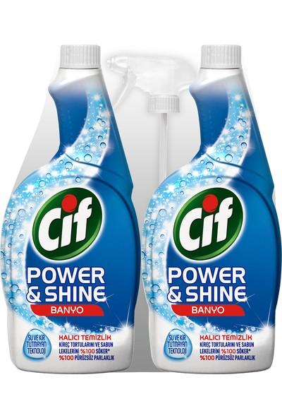 Cif Power&Shine Banyo Sprey 2 x 750 ml