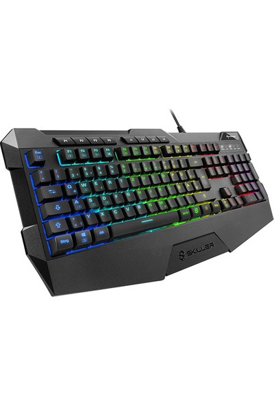 Sharkoon KBD Skiller SGK4 Q Oyuncu RGB Klavye