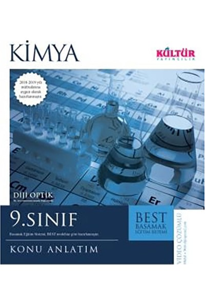 Kültür Yayınları Best 9. Sınıf Kimya Konu Anlatım