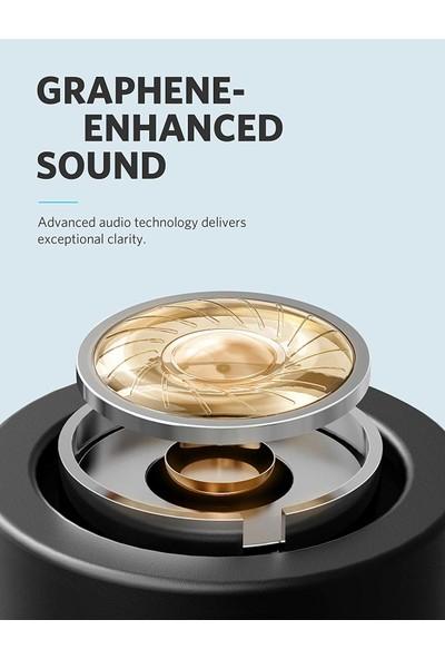 Anker Soundcore Liberty Lite - Kablosuz Bluetooth 5.0 Kulaklık - IPX5 - 12 Saate Varan Şarj Süresi - Grafen Sürücü - Siyah - A3901011