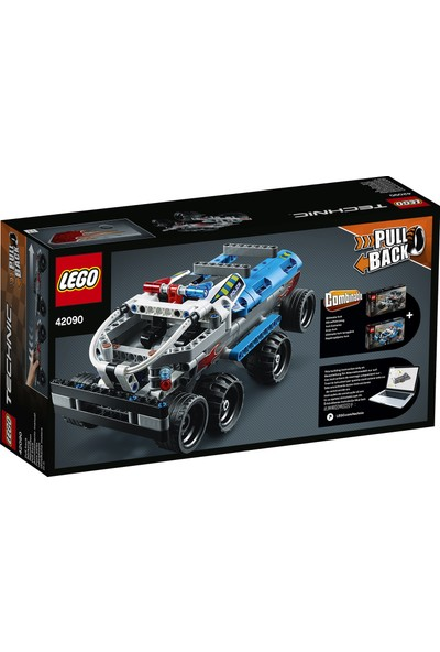 LEGO Technic 42090 Kaçış Kamyoneti