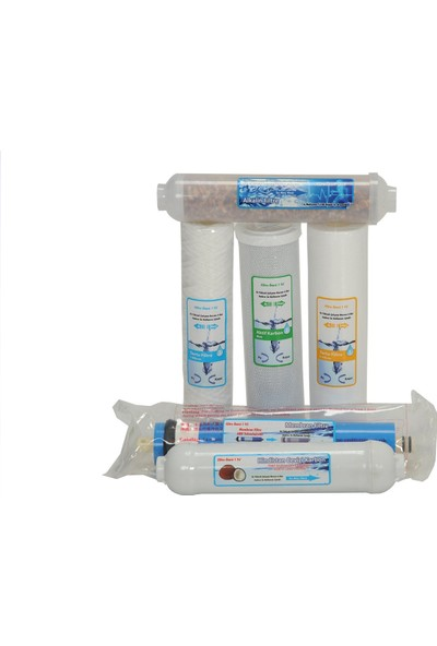 CONAX ECO +Alkalin Yedek Filtre Seti