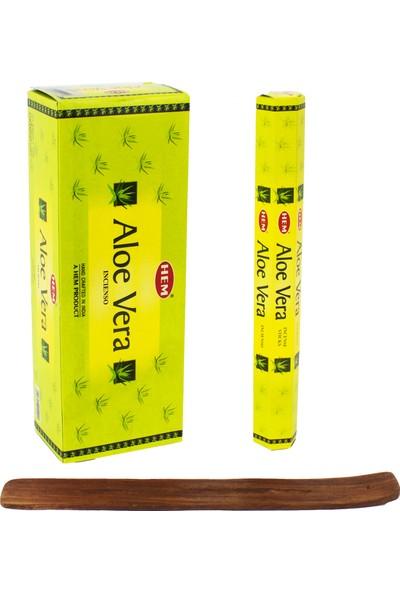 Hem Tütsü Aloe Vera Kokusu 6 Paket 120 Stick