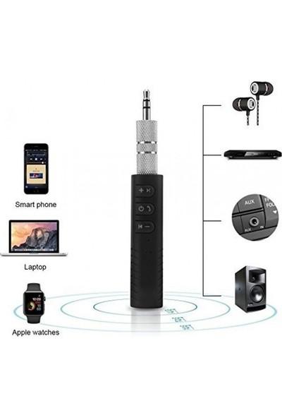 Car Bluetooth Music Driver Araç Aux Hands-Free Mp3 Bağlantı Kiti