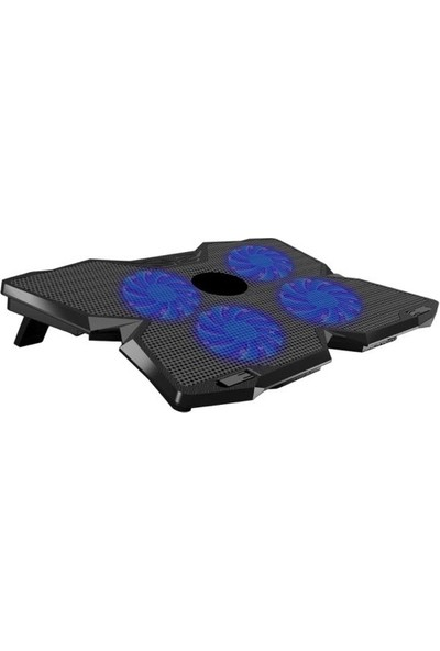 Dexim DNA001 4 Fan Ledli Notebook Soğutucu Stand