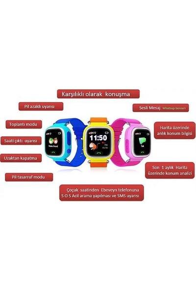 Dijikid Android İOS Uyumlu GPS Takip | Sim Kart | Akıllı Çocuk Saati